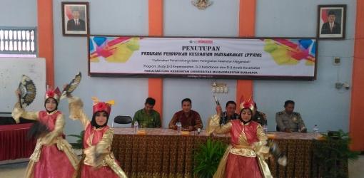 Acara Seremonial Penutupan PPKM di Balai Kecamatan Kenjeran