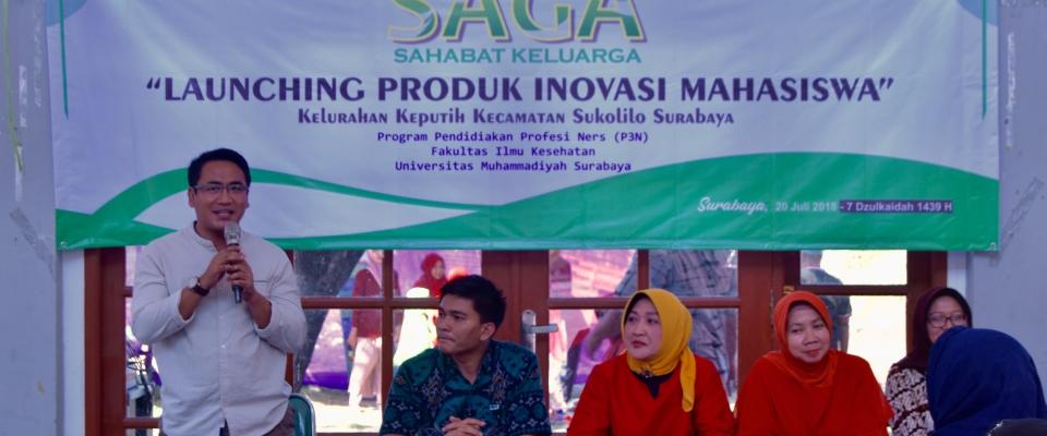 Sambutan Dekan FIK UMSurabaya, Dr. Mundakir, M.Kep
