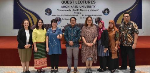 VISITING PROFESSOR dari KHON KAEN UNIVERSITY THAILAND