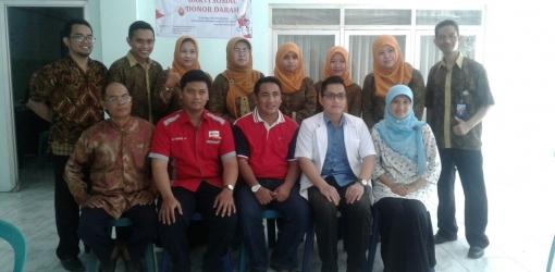 Mahasiswa FIK UMSurabaya Bantu Wujudkan Ibu Hamil Punya Empat Pendonor Darah